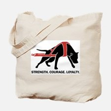 Pit Bull Weight Pull Tote Bag