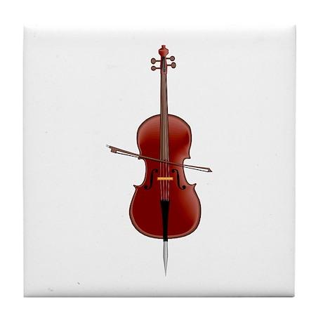"""""""Cello"""" Tile Coaster"""