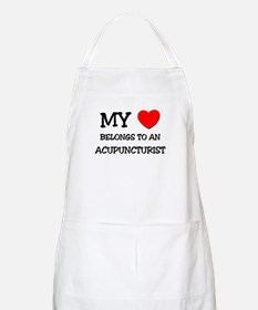 My Heart Belongs To An ACUPUNCTURIST BBQ Apron