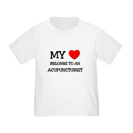My Heart Belongs To An ACUPUNCTURIST Toddle