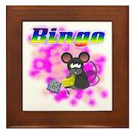 Bingo 3D Mouse Framed Tile