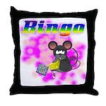 Bingo 3D Mouse Throw Pillow
