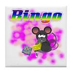 Bingo 3D Mouse Tile Coaster