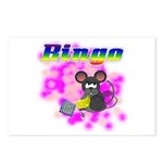 Bingo 3D Mouse Postcards (Package of 8)