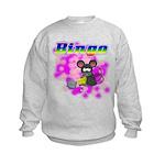 Bingo 3D Mouse Kids Sweatshirt