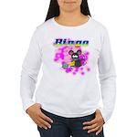 Bingo 3D Mouse Women's Long Sleeve T-Shirt