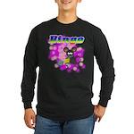 Bingo 3D Mouse Long Sleeve Dark T-Shirt