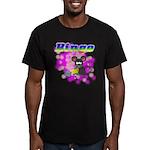 Bingo 3D Mouse Men's Fitted T-Shirt (dark)