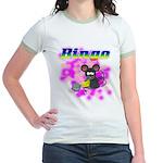 Bingo 3D Mouse Jr. Ringer T-Shirt