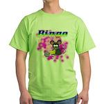 Bingo 3D Mouse Green T-Shirt
