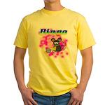 Bingo 3D Mouse Yellow T-Shirt