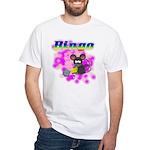 Bingo 3D Mouse White T-Shirt