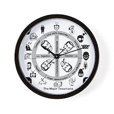 LeMur's Psych 11 Wall Clock