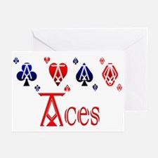 Aces Greeting Cards (Pk of 10)