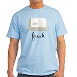 Ctrl (Control) Freak Light T-Shirt