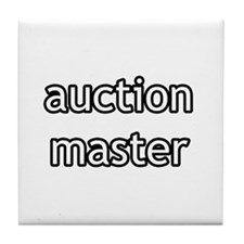Auction Master Product Line Tile Coaster