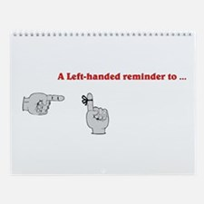 Variety of Lefts Wall Calendar