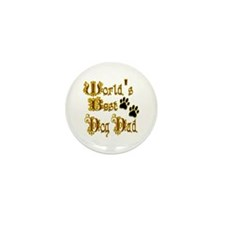 Best Dog Dad Mini Button (10 pack)