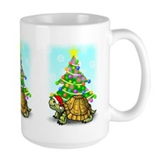 Large X-Mas Turtle Mug