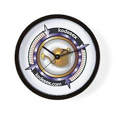 GOLDEN SHOWER -- RECEIVER Wall Clock