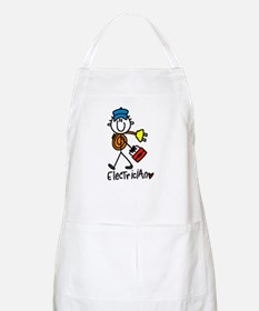 Basic Electrician BBQ Apron
