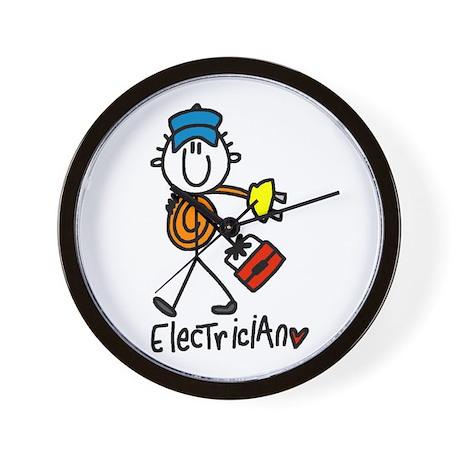 Basic Electrician Wall Clock