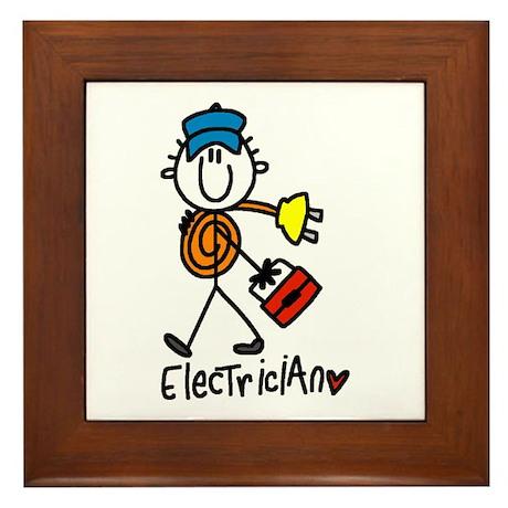 Basic Electrician Framed Tile
