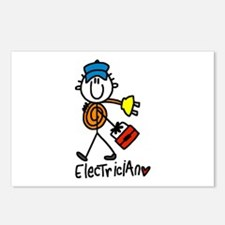 Basic Electrician Postcards (Package of 8)
