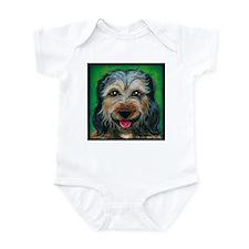 """Terrier Mix """"Daisy"""" Infant Bodysuit"""