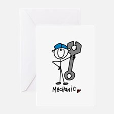 Basic Mechanic Greeting Card