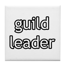 Guild Leader Product Line Tile Coaster