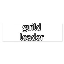 Guild Leader Product Line Bumper Bumper Sticker