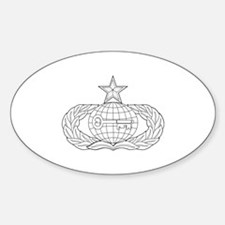 Intelligence Oval Decal