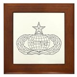 Military intelligence Framed Tiles