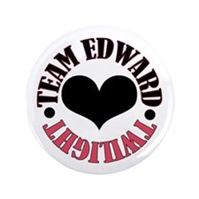 "Twilight Edward 3.5"" Button"