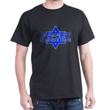 Jew-Unit/Challah Back Black T-Shirt