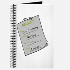 Natalie's Dry Cleaning Journal