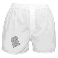 Natalie's Dry Cleaning Boxer Shorts