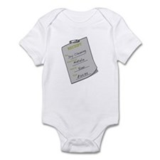 Natalie's Dry Cleaning Infant Bodysuit