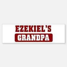 Ezekiels Grandpa Bumper Bumper Bumper Sticker