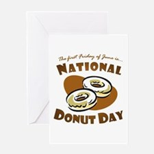 June: National Donut Day Greeting Card