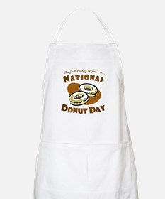 June: National Donut Day BBQ Apron