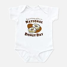 June: National Donut Day Infant Bodysuit