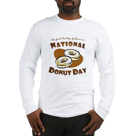 June: National Donut Day Long Sleeve T-Shirt