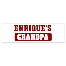 Enriques Grandpa Bumper Bumper Stickers