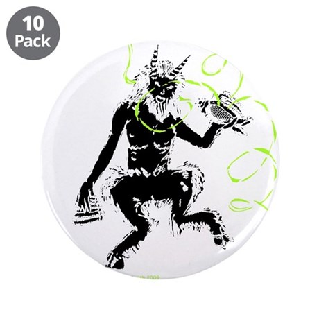 """The Great God Pan 3.5"""" Button (10 pack)"""