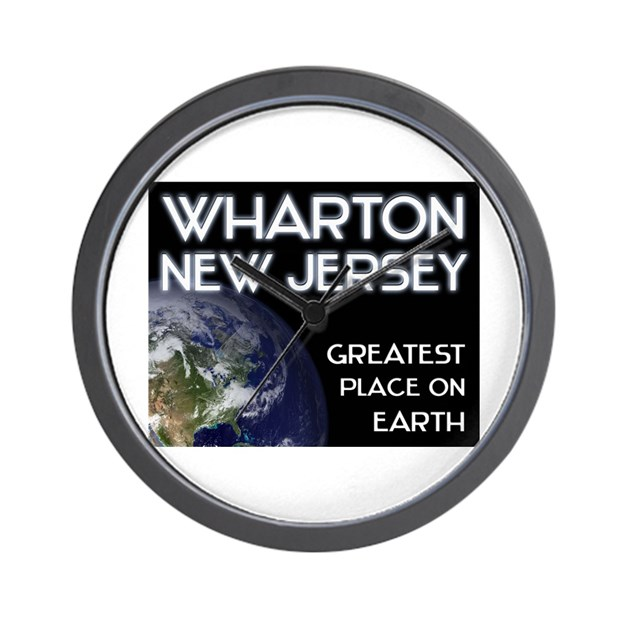 Wharton new jersey greatest place on earth wall by for Wharton cad