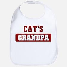 Cats Grandpa Bib