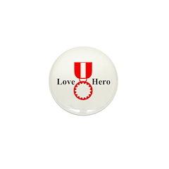 Love Hero Mini Button (10 pack)