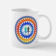 Tribal Sun Lizard Mug